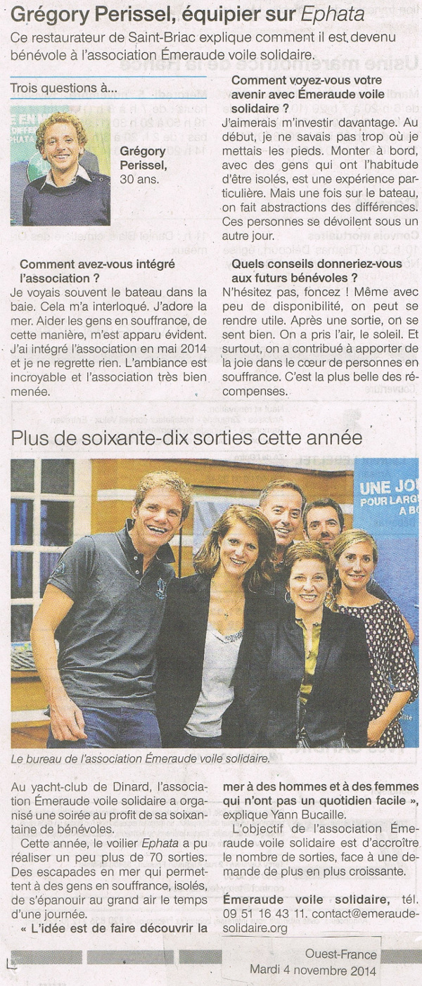 presse 2014 ouest france