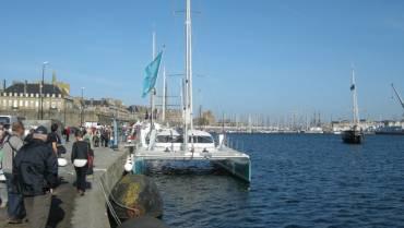 Route du Rhum : Ephata au Bassin Vauban